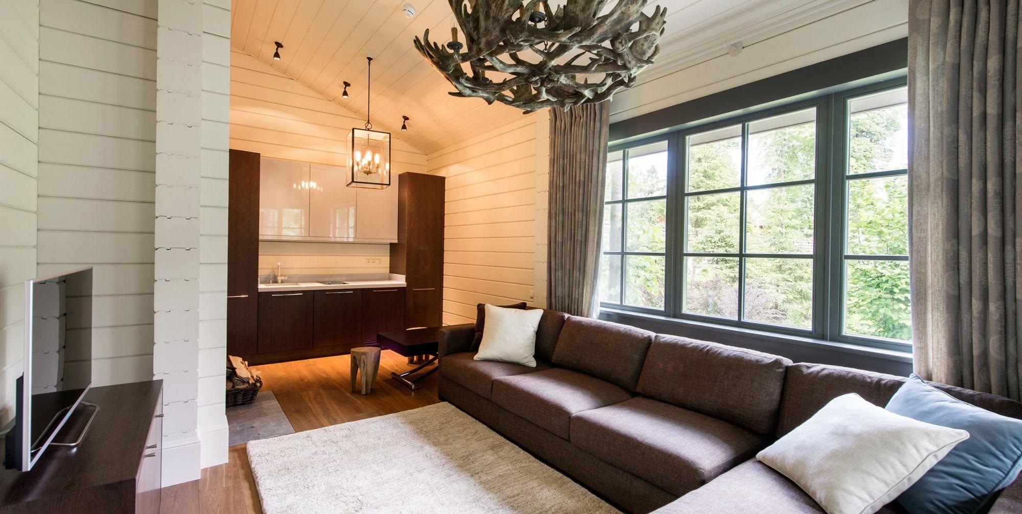 комнаты отдыха бани внутри фото
