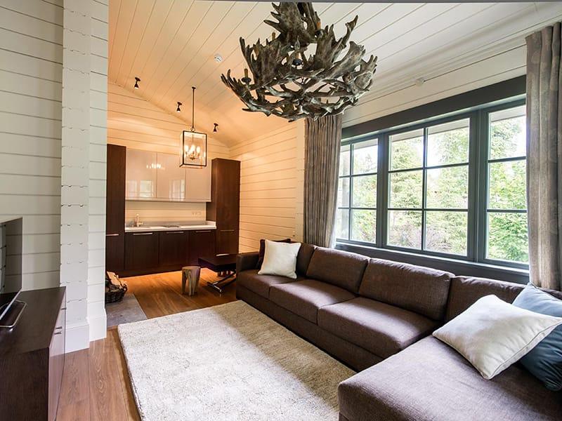 качественная отделка дома из бруса