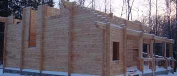 Строительство домов по технологии двойного бруса - разработка проекта