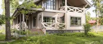 Финские дома из клееного бруса - нюансы строительства и характеристики