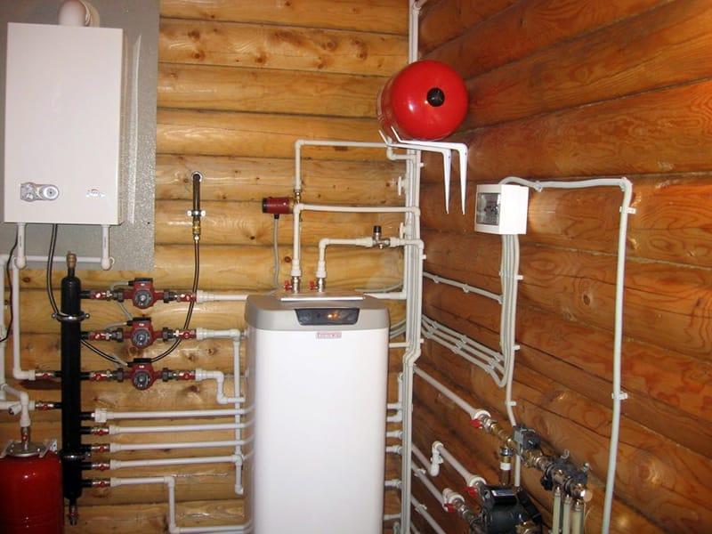 Дома из бруса проекты с отоплением